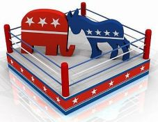 GOPDem Boxing Ring