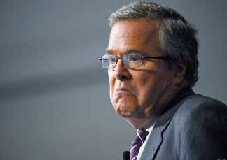 SIMI VALLEY, CA - MARCH 08: Former Florida Governor Jeb Bush speaks at the Reagan Library after autographing his new book