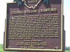 crawford plaque
