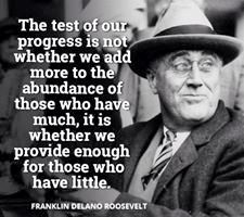 FDR-PROGRSS-PROVIDE-FOR-POOR